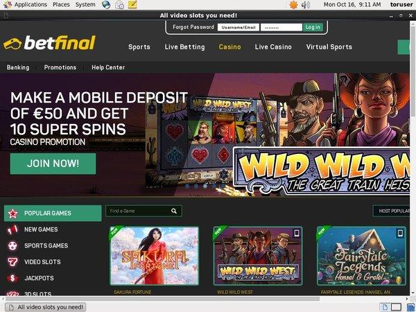 Betfinal Casino Kostenlos