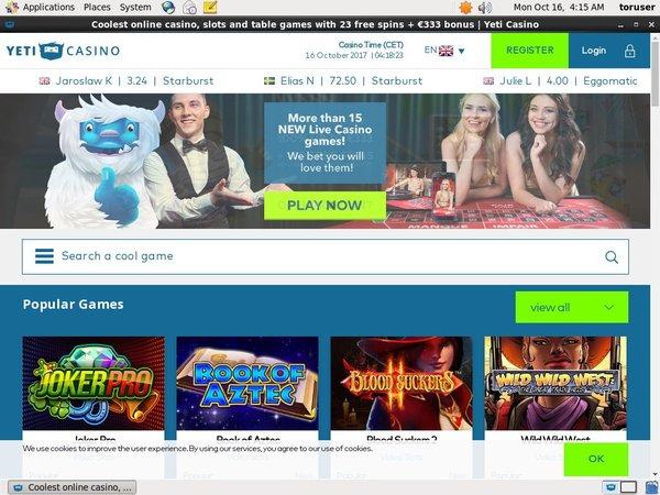 Casino Yeticasino