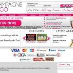 Champagne Bingo Registration Promo Code
