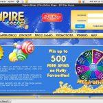 Get Empire Bingo Bonus