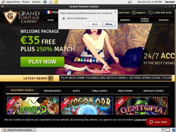 Grand Fortune Casino Neo Surf