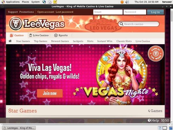 Leo Vegas Slots Bonus