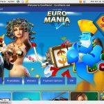 Live Casino Uk Euro Mania