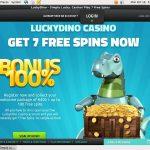Lucky Dino Bonus Terms