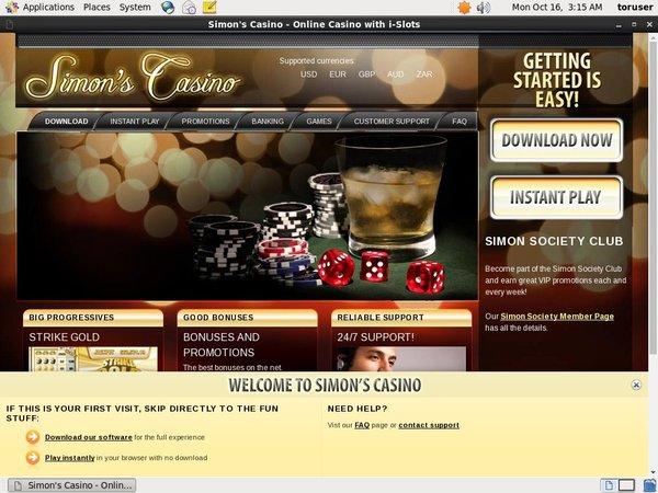 Site Simon Says Casino