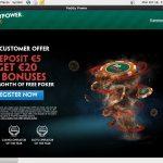 Voucher Paddy Power Poker