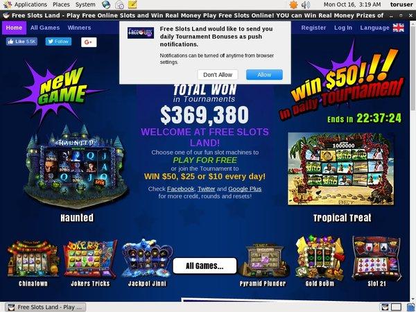 Free Slot приветственный бонус
