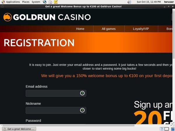 Goldrun Maximum Bet