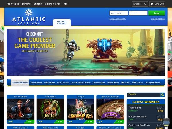 How To Get Atlantic Casino Bonus?