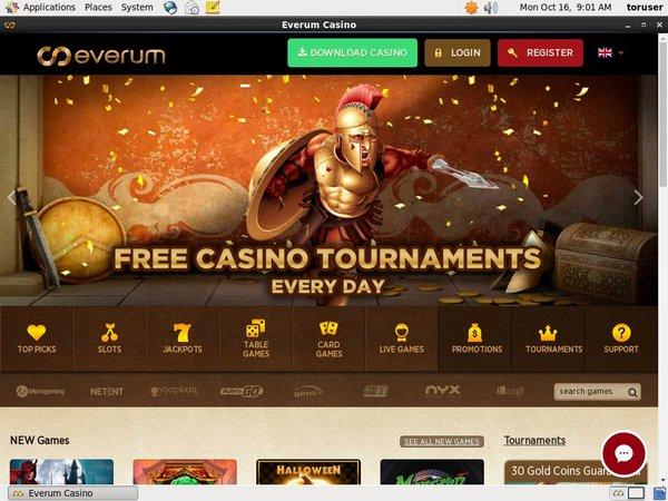 Voucher Everum Casino