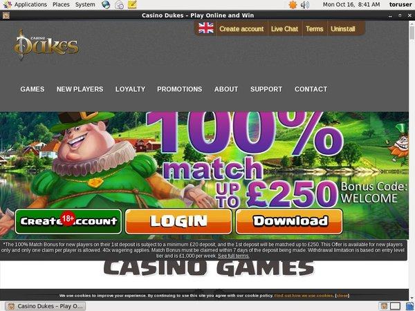 Casinodukes Matched Betting