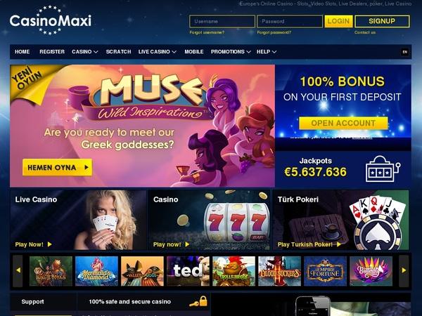 Casinomaxi Code