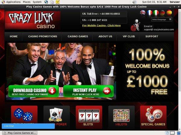 Casino Luck Casino Bingo