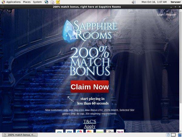 Sapphire Rooms Code
