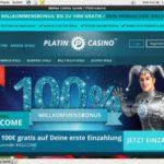 Platin Casino 存款