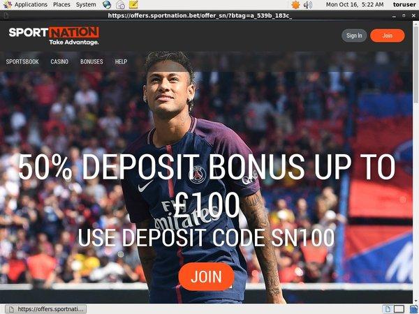Sportnation Bitcoin Deposit
