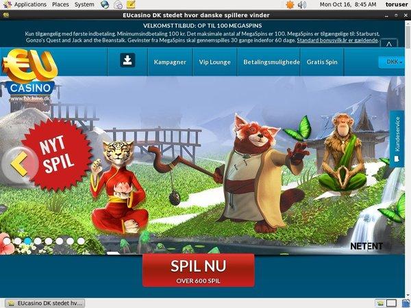 Eucasino Online Casino Guide