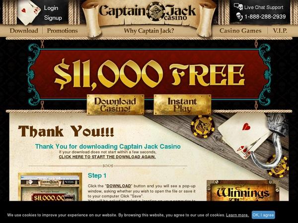 Ohne Einzahlung Captainjackcasino