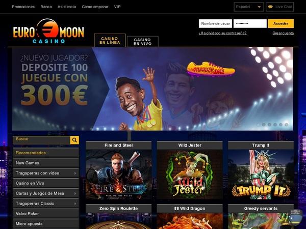 Euro Moon Casino Offer Code