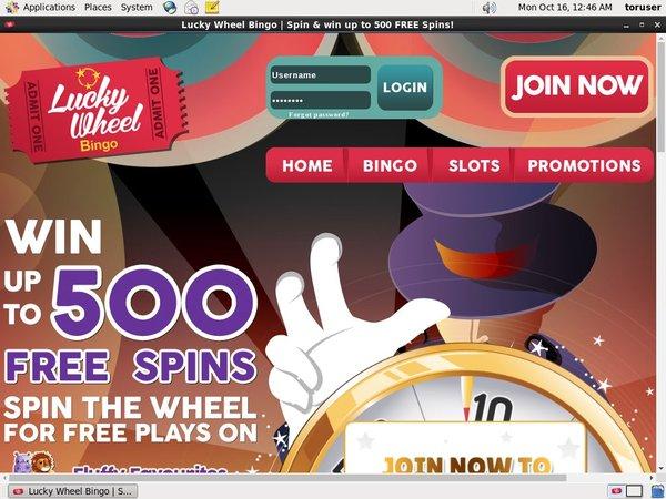 Lucky Wheel Bingo Türkçe