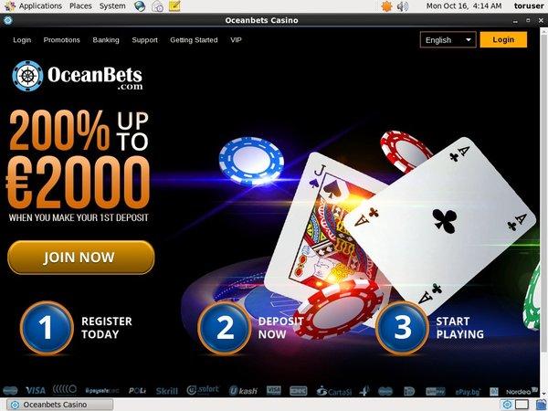 Oceanbets Free Poker